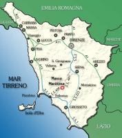 Cartina Costa Tirrenica Toscana.La Toscana Il Mulino
